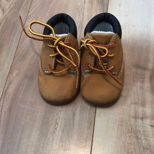 Timberland size 1 baby shoes